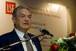 George Soros. Photo taken by Jeff Ooi.