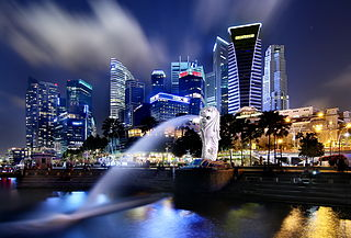 The Singapore Merlion at the Bay. Photo courtesy of Erwin Soo.